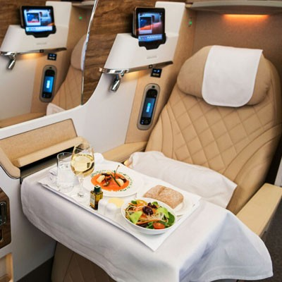 An Emirates Business Class Flight Experience